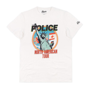 The Police - North American Tour T-Shirt