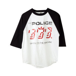 The Police Ghost In The Machine Raglan T-Shirt