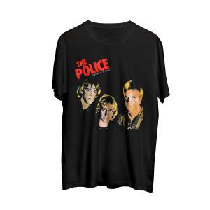The Police Outlandos d'Amour Faces T-Shirt
