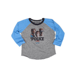 The Police Synchronicity Long Sleeve Children's Toddler Raglan