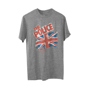 The Police Union Jack T-Shirt
