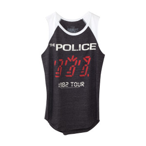 The Police Women's Ghost In The Machine '82 Tour Sleeveless Raglan