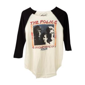 The Police Women's Synchronicity Tour Raglan
