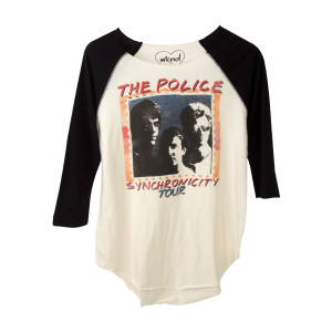 The Police Women's Synchronicity Tour Raglan