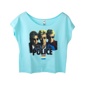 The Police Women's Terry Dolman Sleeve Top