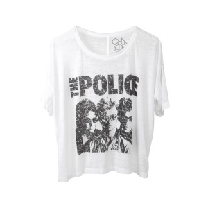 The Police Women's Vintage Greatest Hits Boxy T-Shirt