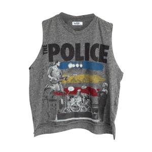 The Police - Grey Tank Top