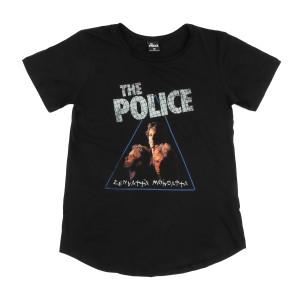 The Police Zenyatta Mondatta Juniors Black T-shirt
