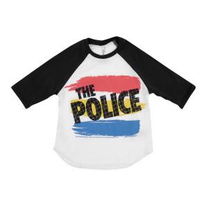 The Police Lauren Moshi Bunny 3/4 Youth Raglan