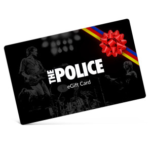 The Police Electronic Gift Certificate