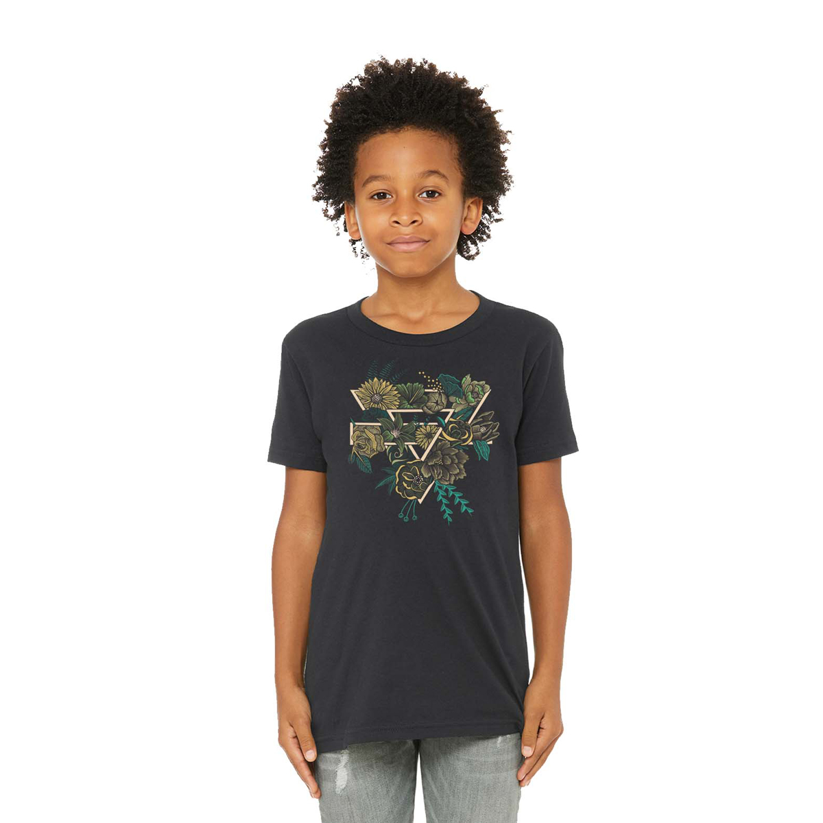 Youth Floral Tee