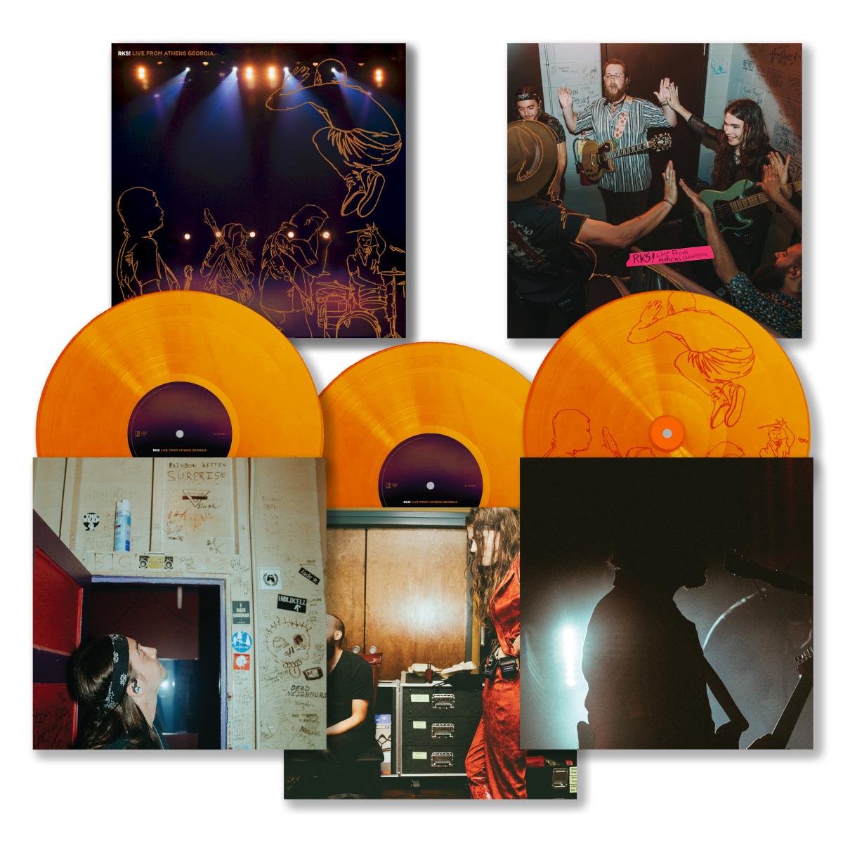 RKS 3 Disc Live In Athens Album