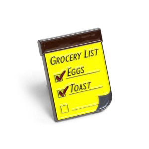 RKS Grocery List Pin