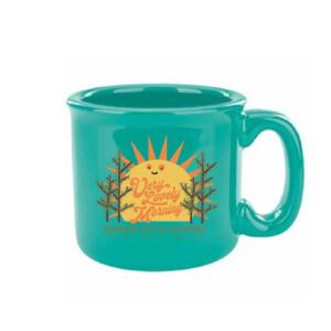 Very Lovely Morning Ceramic Mug (Non-Speckled)