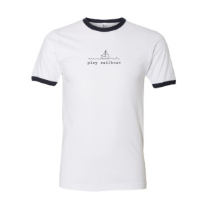 Play Sailboat Ringer Tee