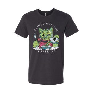 Space Kitty Breakfast Tee