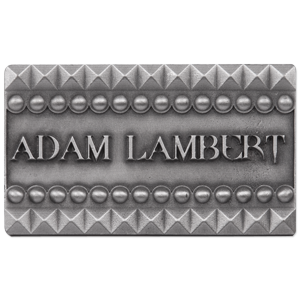 ADAM LAMBERT STUD BELT BUCKLE