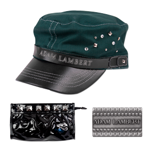 Adam Lambert Black Accessories Bundle