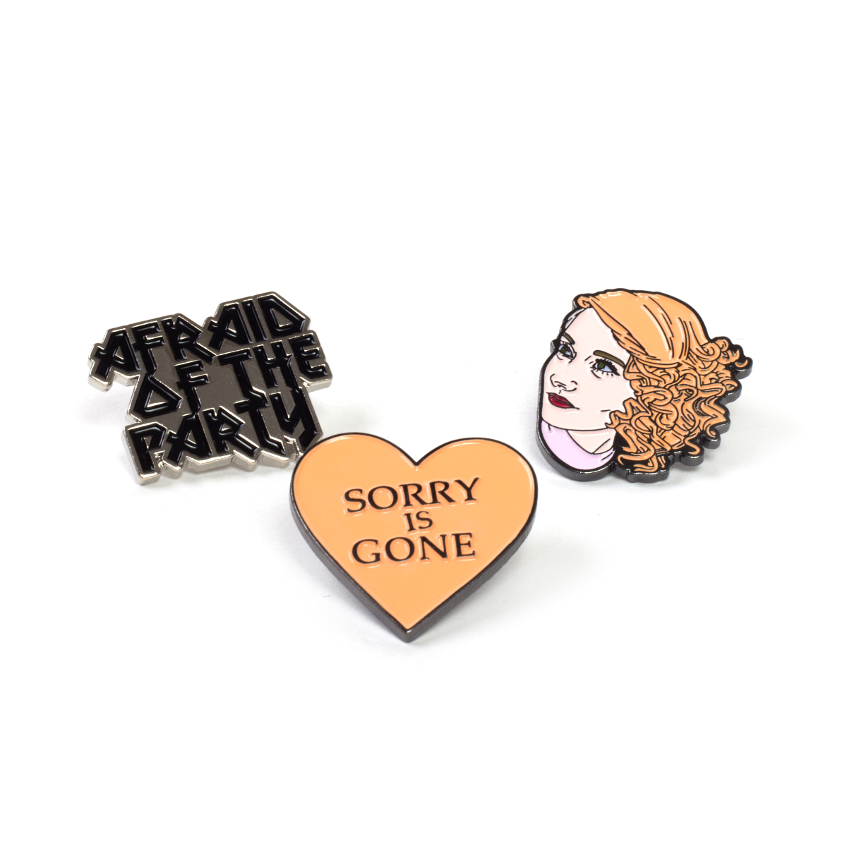 Jessica Lea Mayfield 3 Pin Pack