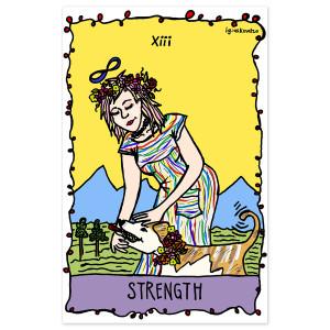 Strength RAINN Benefit Poster