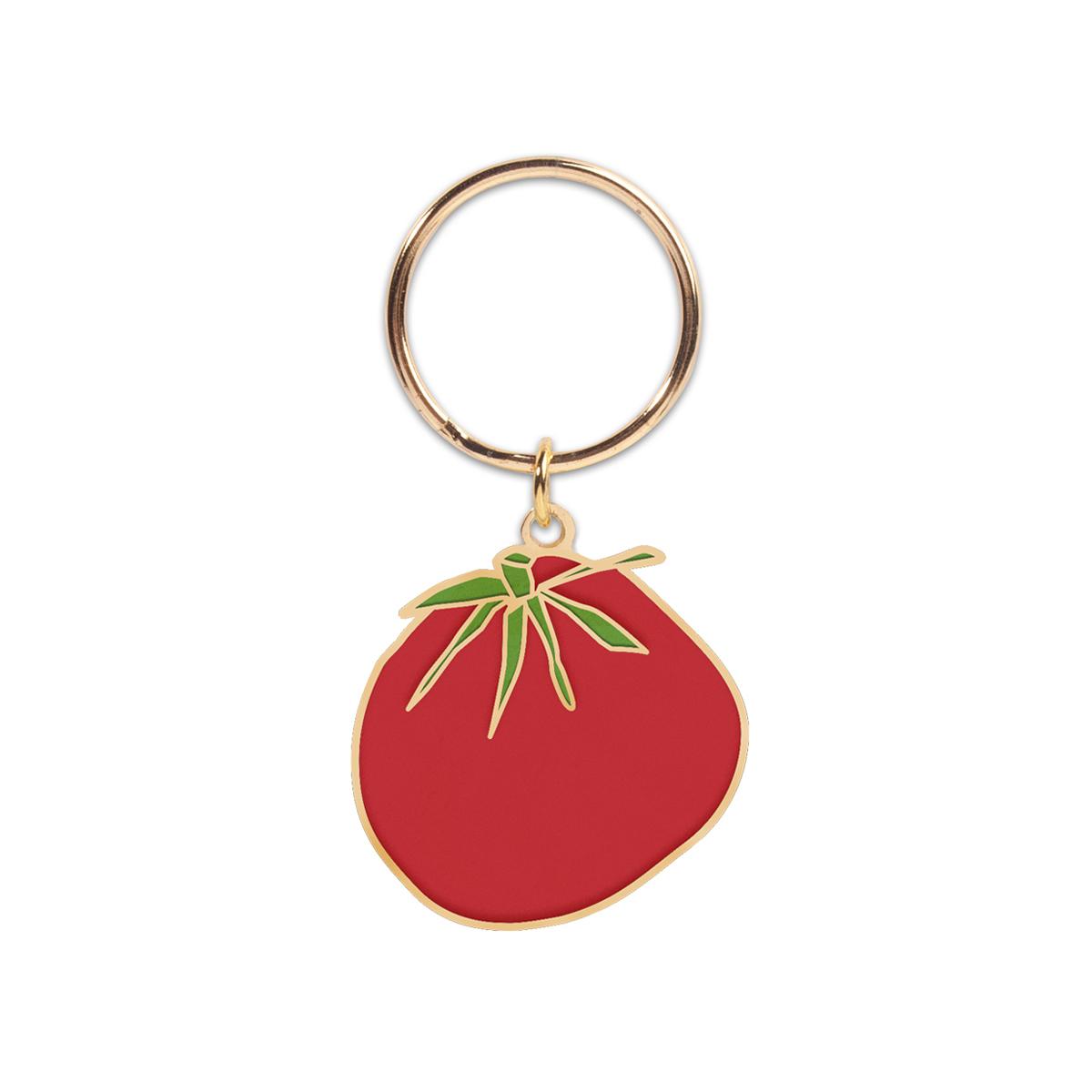Tomato Keychain