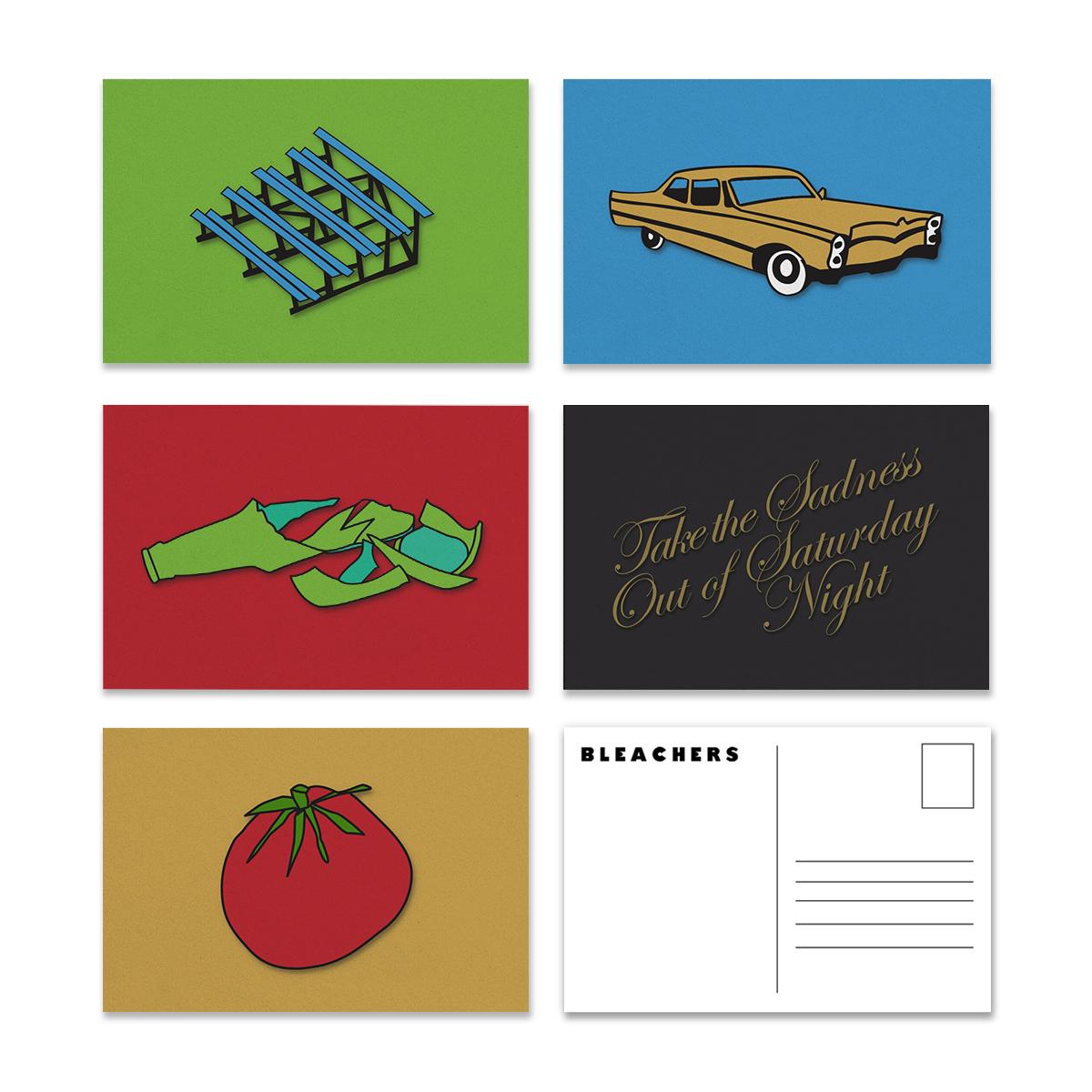 Hand Drawn Postcard Set