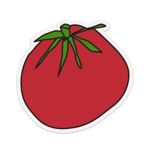 "8"" Tomato Sticker"