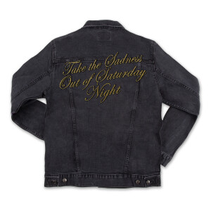 Take the Sadness out of Saturday Night Jean Jacket (+Exclusive Jacket Patch Set)