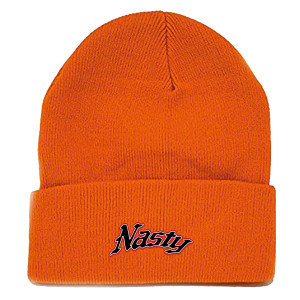 Nas Nasty Orange Beanie