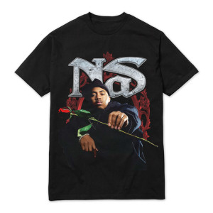 Nas Red Rose T-shirt