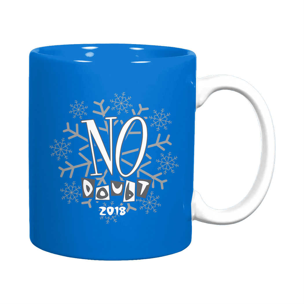2018 No Doubt Collectible Holiday Mug