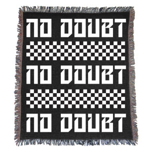 "No Doubt Checkered Blanket 50"" x 60"""