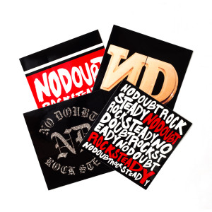 Rock Steady 4-Sticker Pack