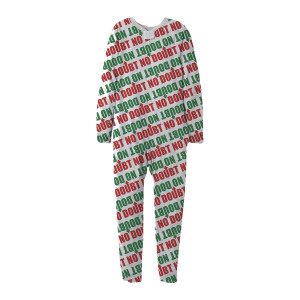 No Doubt Holiday Sherpa Onesie