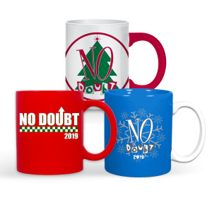 No Doubt Holiday Mug Bundle