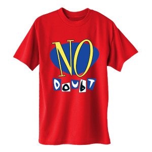 No Doubt Vinyl Release Red Unisex Tee