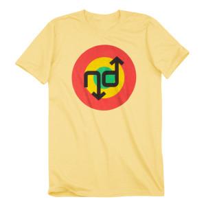 No Doubt Target Yellow T-Shirt