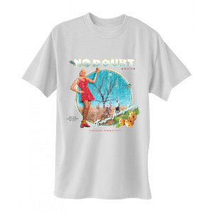Distressed Tragic Kingdom White T-Shirt