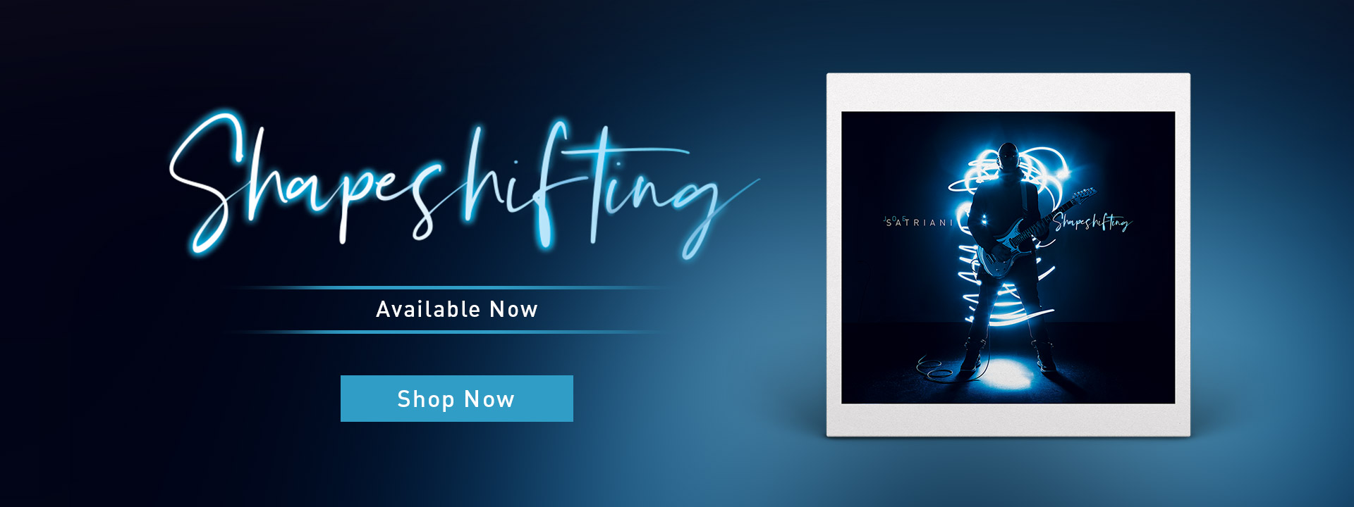 Joe Satriani | Shapeshifting | Order the new album and receive early access for the next US tour | Shop now!