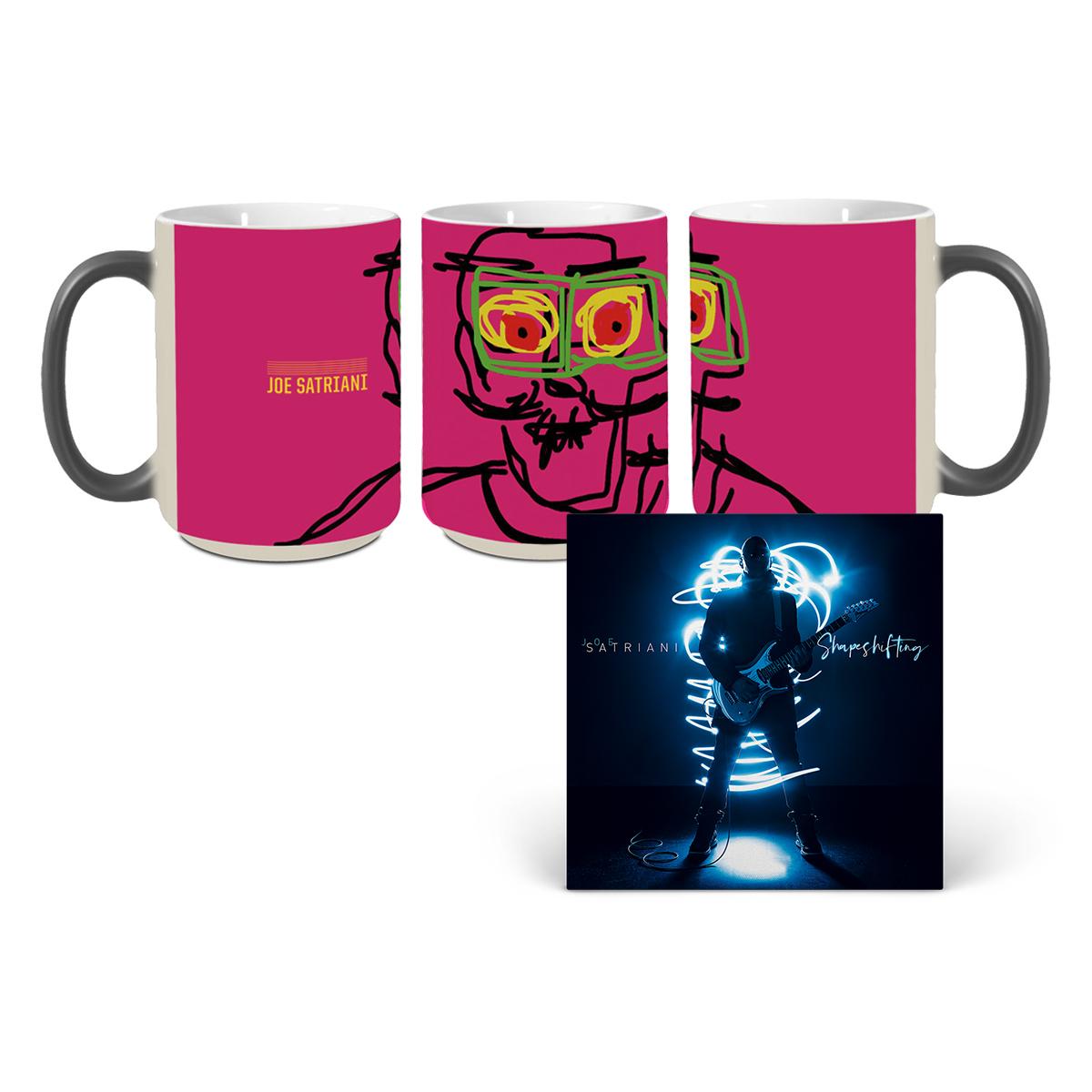 Joe Satriani: Shapeshifting Album + Original Artwork Ceramic Reveal Mug
