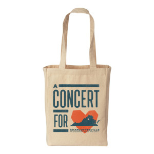 Concert for Charlottesville Tote Bag