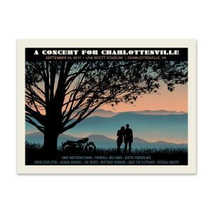Concert for Charlottesville Poster
