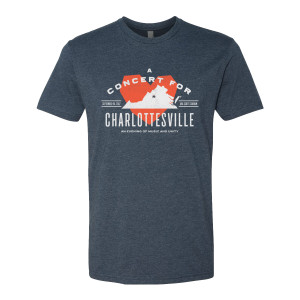 Concert for Charlottesville T - Heather Blue