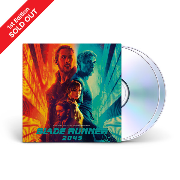 Blade Runner 2049 (Original Motion Picture Soundtrack) 2-CD Set + Download