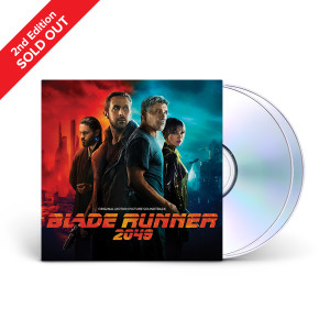 2nd Edition Blade Runner 2049 (Original Motion Picture Soundtrack) 2-CD Set + Download
