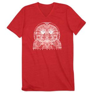 Owl V-Neck Tee