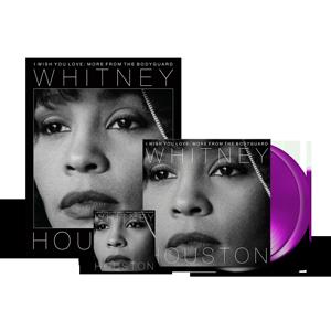 Whitney Houston - I Wish You Love: More From The Bodyguard 2-LP Purple Vinyl + Digital Album + FREE Poster