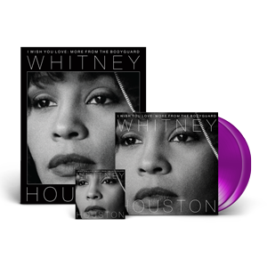 Whitney Houston - I Wish You Love: More From The Bodyguard 2-LP Purple Vinyl + Digital Album + FREE Poster