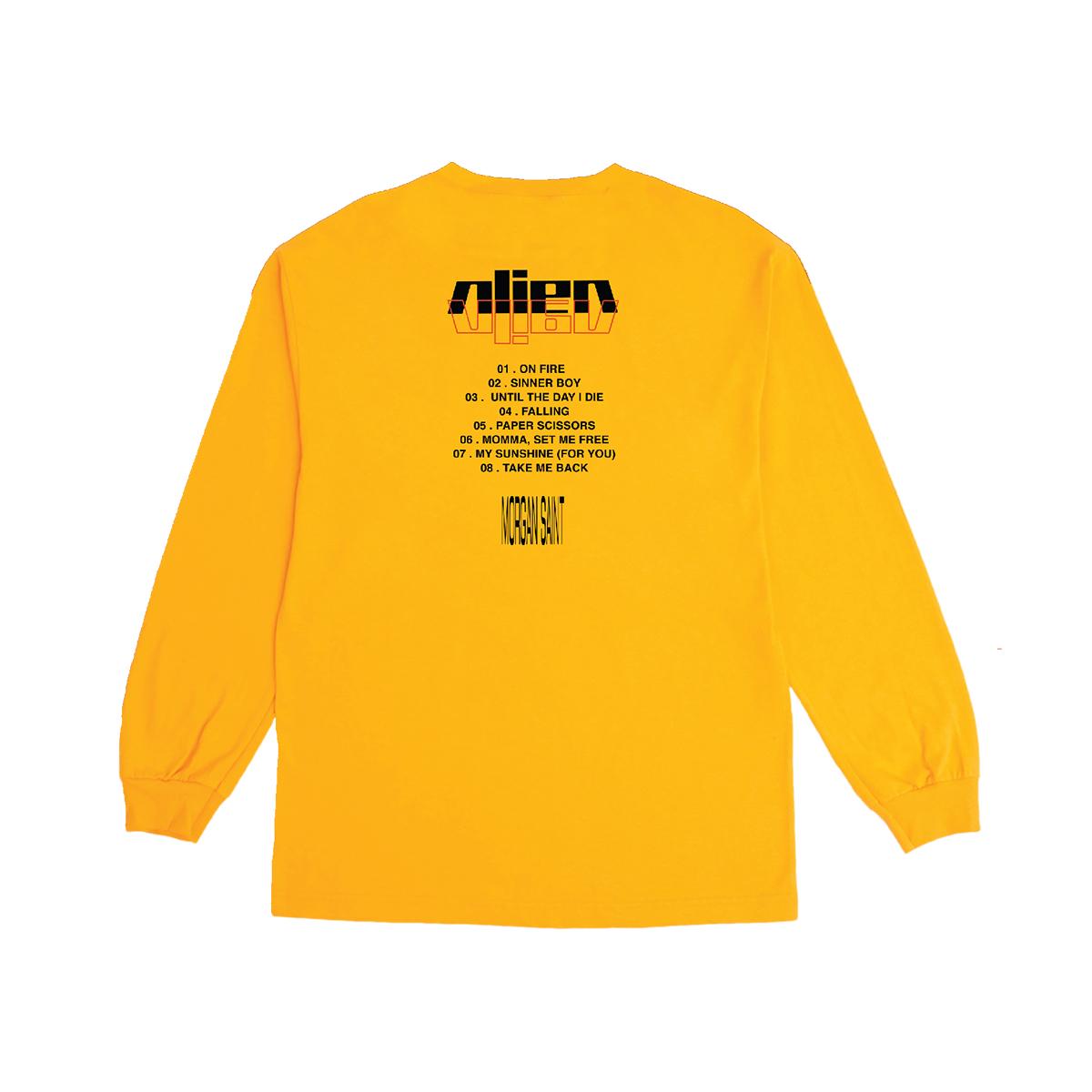 Morgan Saint ALIEN Long-Sleeve T-Shirt + Digital Download