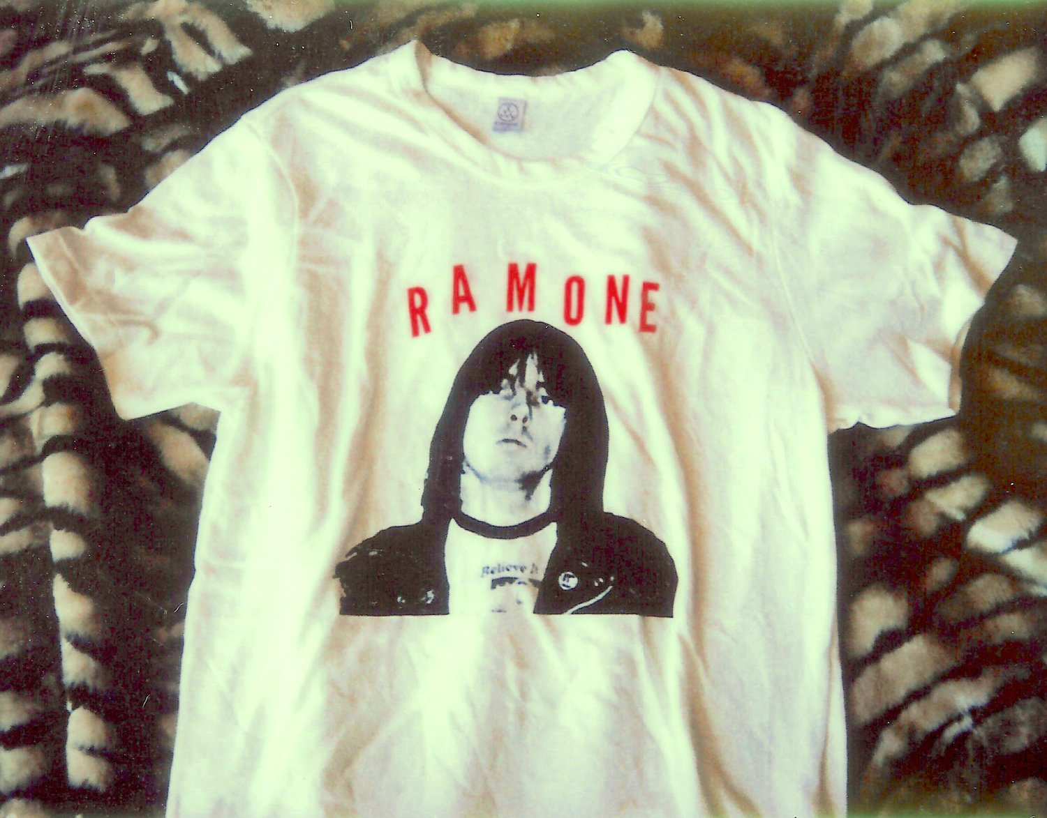 Johnny Ramone™ Limited Edition JR Tribute T-shirt